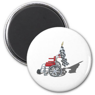WheelchairCheckeredFlag090912.png Magnet