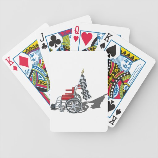 WheelchairCheckeredFlag090912.png Playing Cards