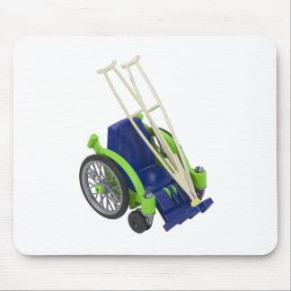 WheelchairCrutches013110 Mousepad