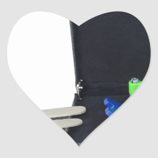 WheelchairRampInBriefcase062115 Heart Sticker