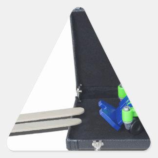 WheelchairRampInBriefcase062115 Triangle Sticker