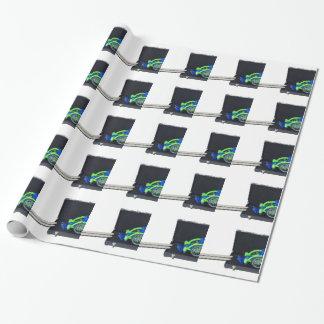 WheelchairRampInBriefcase062115 Wrapping Paper
