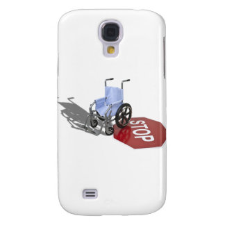 WheelchairStopSign103110 Galaxy S4 Case