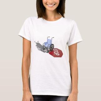 WheelchairStopSign103110 T-Shirt