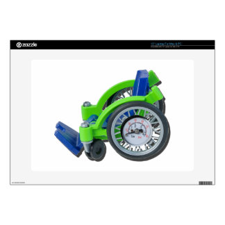 WheelchairWithGauge062115 Decal For Laptop