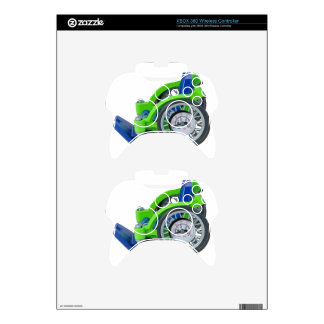 WheelchairWithGauge062115 Xbox 360 Controller Skins