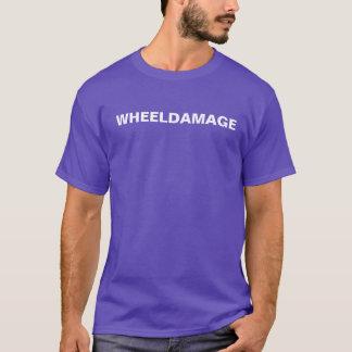 WheelDamage Text T-Shirt