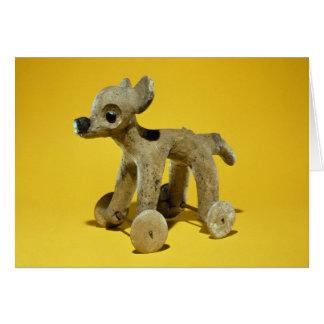 Wheeled animal toy, Vera Cruz, Mexico Card
