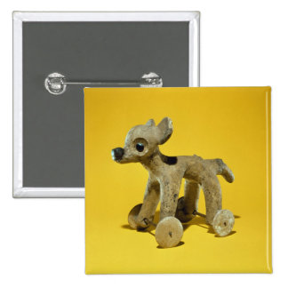 Wheeled animal toy, Vera Cruz, Mexico Pinback Button