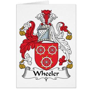 Wheeler Family Crest Card