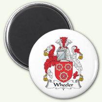 Wheeler Family Crest Magnet