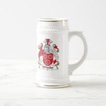 Wheeler Family Crest Mug
