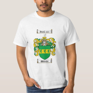 Wheeler Family Crest - Wheeler Coat of Arms T-Shirt