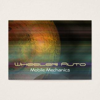 Wheeler Mobile Mechanics Business Card