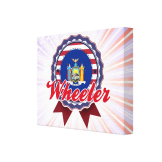 Wheeler NY Stretched Canvas Prints