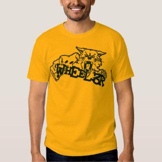Wheeler Wildcat Yellow Tee Shirt