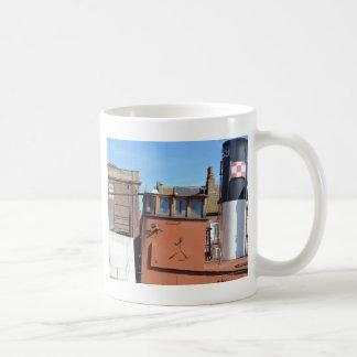 Wheelhouse Of The Lydia Eva Coffee Mug