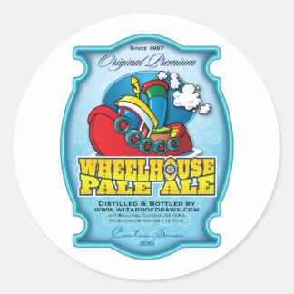 Wheelhouse Pale Ale Classic Round Sticker
