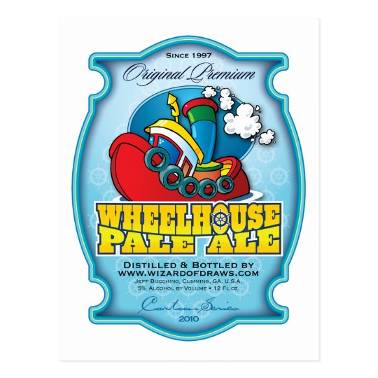 Wheelhouse Pale Ale Postcard