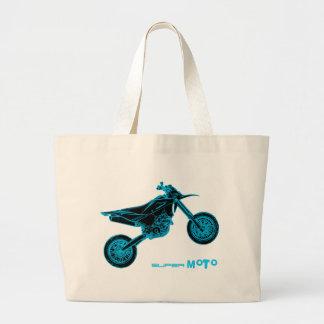 Wheelie de SuperMoto Bolsa Tela Grande