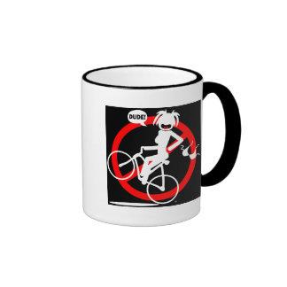 Wheelie hazard Mousepads and Mugs