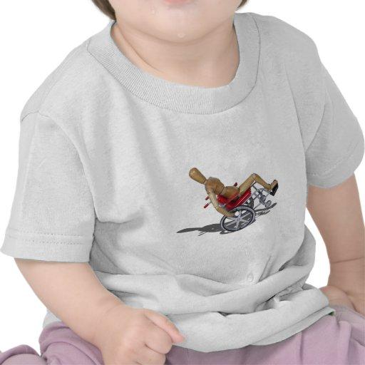 WheelieWheelchair103110 Camisetas