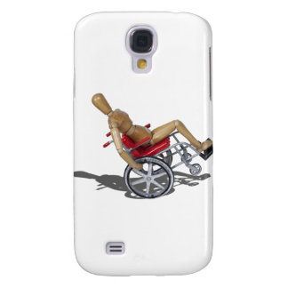 WheelieWheelchair103110 Galaxy S4 Case
