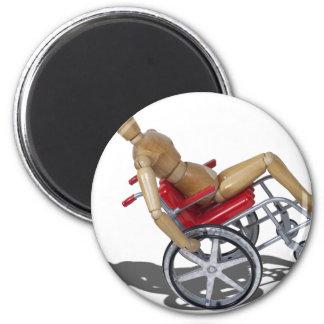 WheelieWheelchair103110 Imán Redondo 5 Cm