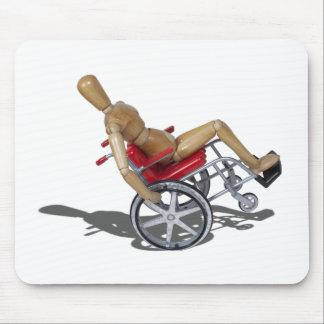 WheelieWheelchair103110 Alfombrilla De Ratones