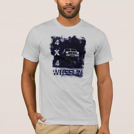 Wheelin 4x4 Offroad Four Wheeler Truck T-Shirt