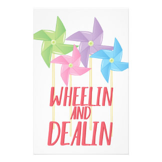 Wheelin And Deallin Stationery