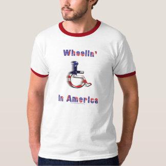 Wheelin' In America T-Shirt