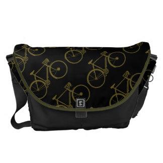 wheeling bike pattern messenger bag