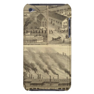 Wheeling Iron Works Wheeling Iron and Nail Company Barely There iPod Cases