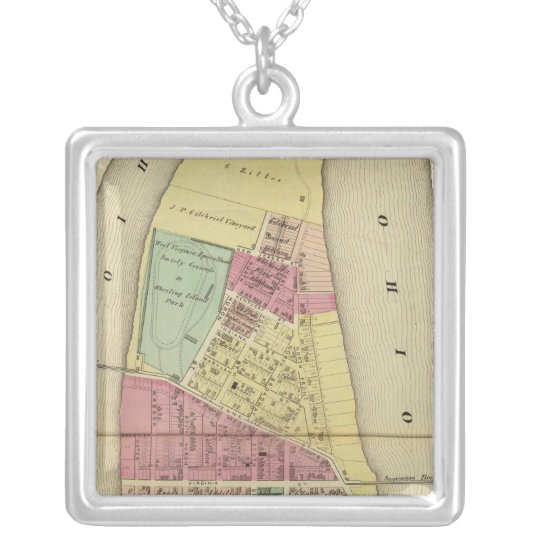 Wheeling Island Silver Plated Necklace