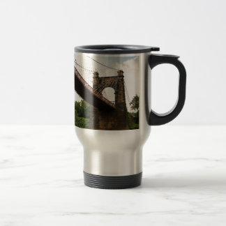 Wheeling Suspension Bridge Travel Mug