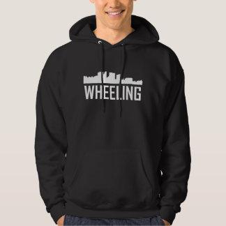 Wheeling West Virginia City Skyline Hoodie