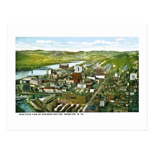 Wheeling, West Virginia Post Card