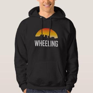 Wheeling West Virginia Sunset Skyline Hoodie