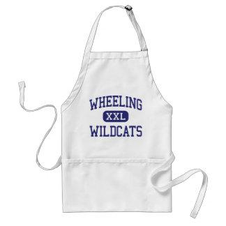 Wheeling Wildcats Middle Wheeling Aprons