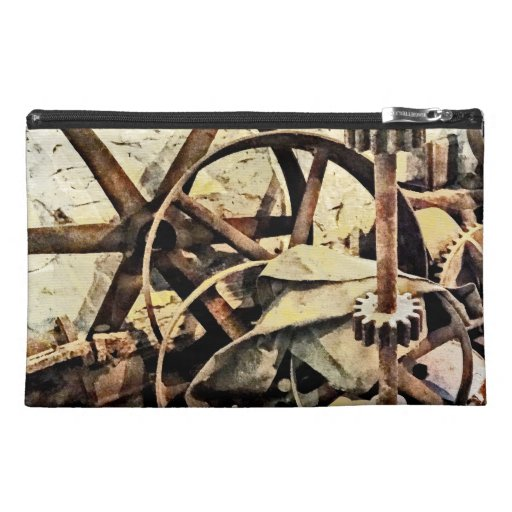 Wheels and Gears in Grist Mill Travel Accessories Bags