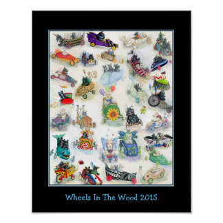 Wheels In The Wood 2015 poster
