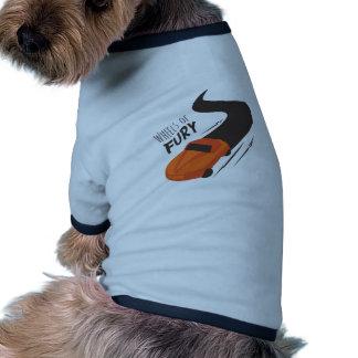 Wheels Of Fury Doggie Tee Shirt