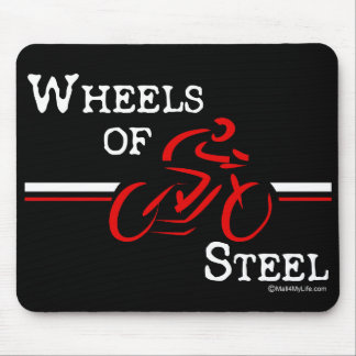 Wheels Of Steel Mouse Pad