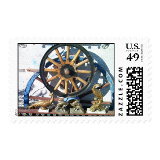 Wheels of yesteryear stamps