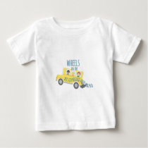 Wheels On Bus Baby T-Shirt