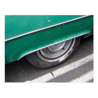 wheels postcard