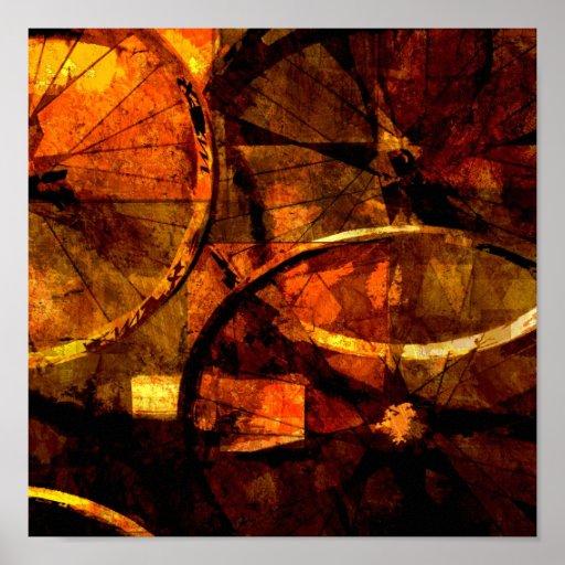 Wheels Print
