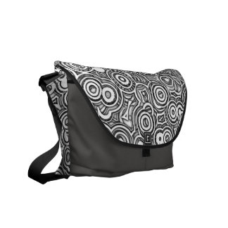 Wheels Within Wheels Abstract Pattern 2 Bag