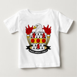 Wheelwright Family Crest Baby T-Shirt